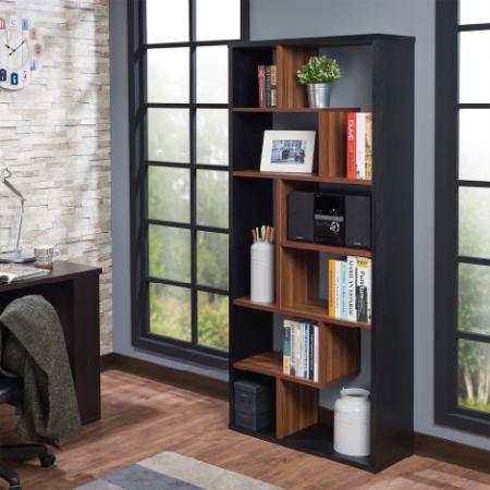 Nine Grid Geometry Bookcase
