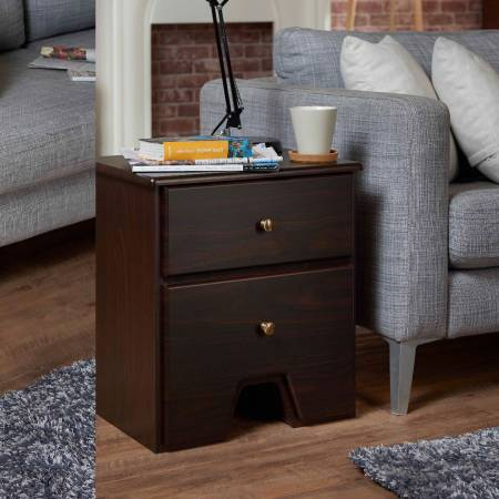 Retro Style Lightweight DIY Modular Side Table - Bedside table rectangular shape, retro texture