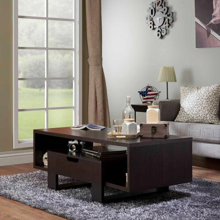 Sled Style Steady Coffee Table - Practical style increases more functions