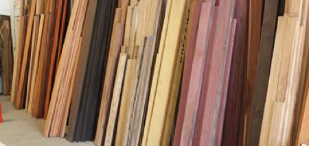 According to customer designed drawing or furniture characteristics, select appropriate wood sheet for processing.