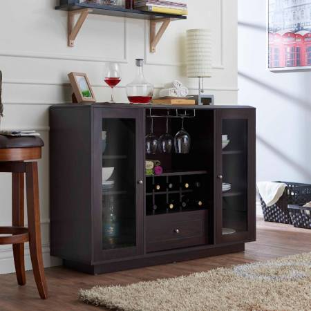 Village Multifunctional Wine Cabinet - Classic box Design