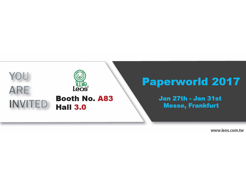 2017 Paperworld, Messe Frankfurt