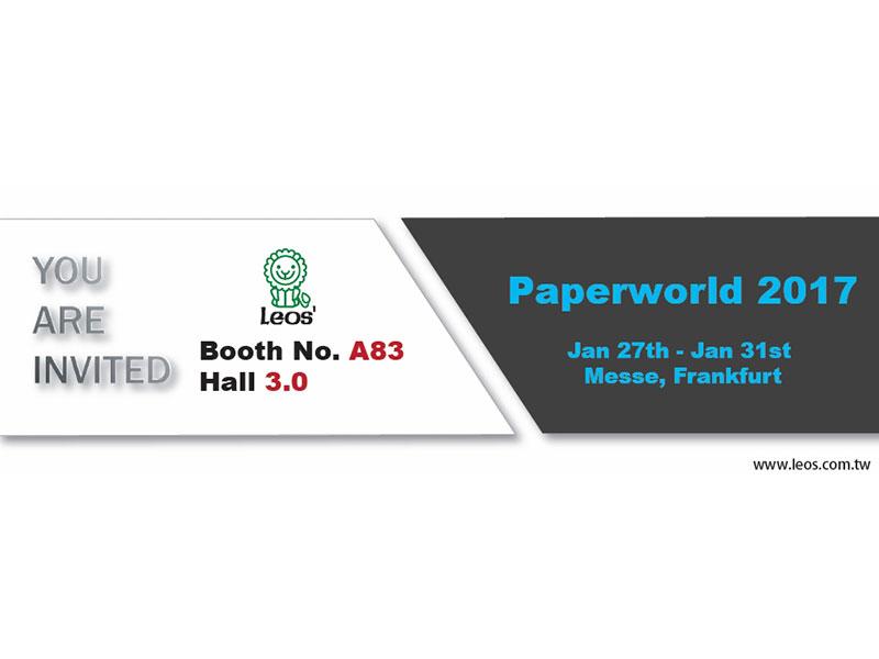 2017 Paperworld, Messe Frankfurt