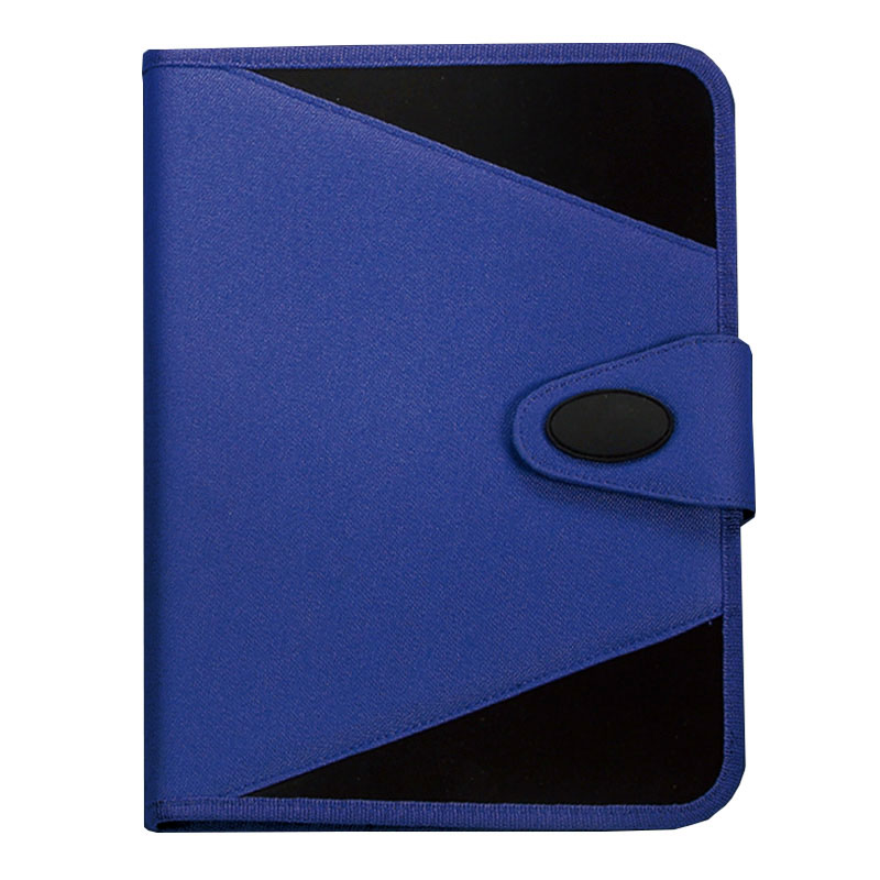 Prevent documents from falling out of place with our high-quality zipper enclosure.