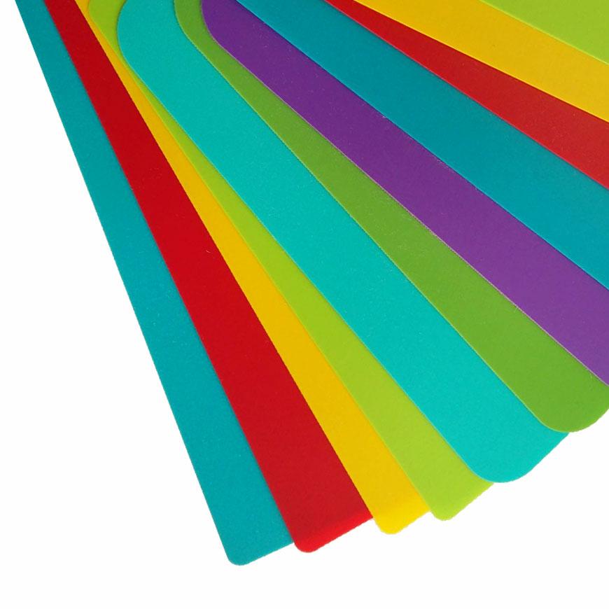 Foglio in PP - materiale per la produzione di articoli per ufficio e cancelleria per ufficio.