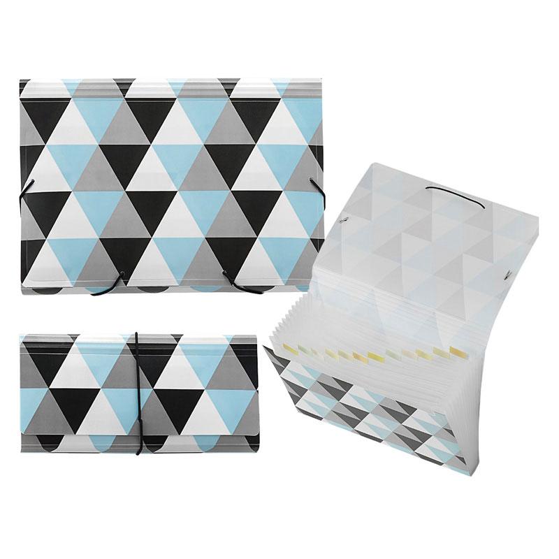 Geometric PP 13 Pockets Expanding File - Geometric Expanding File