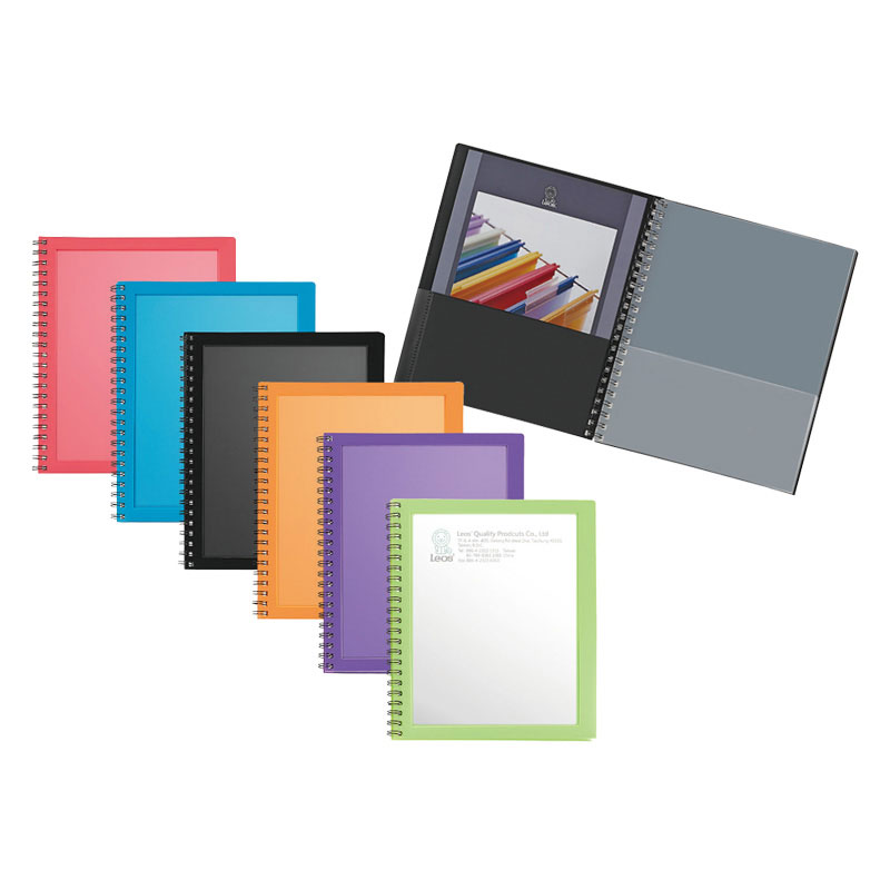 8 X Portfolio 2 Pockets Binder Document Folder Organizer 3 Prong Assorted Colors