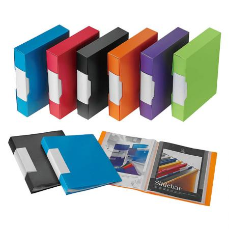 Spine Label Display Book - Keep your papers well-organized.