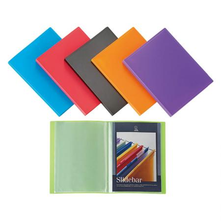 Flexible Display Book - polypropylene sheet protectors of the document folder.