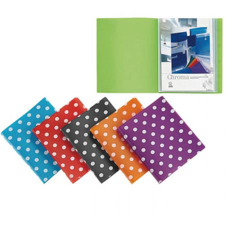 Display Book - Polka Dot Display Book