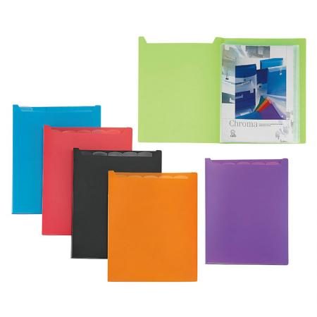 With Index Display Book - The sheets are soft, which leads to an easy page turning function.