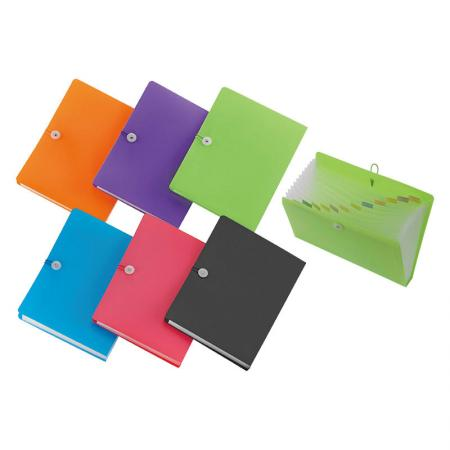 Quick-Close Expanding File - Durable,waterproof and tear-resistant pp material, lightweight and flexible.