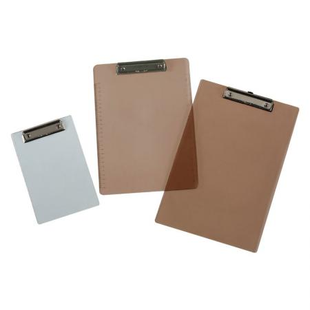 Translucent Clipboard - Constructed of transparent PS board.