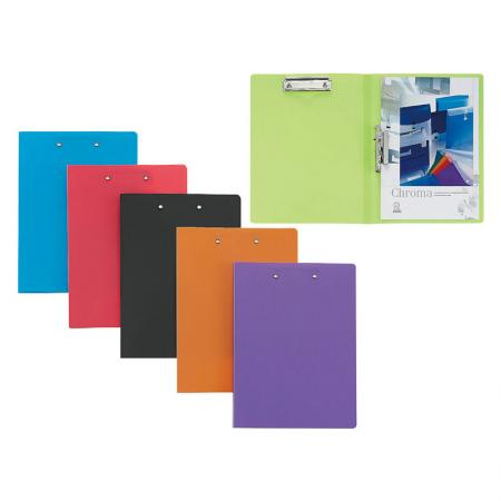 Clip Folder - Clamp is an easy way to secure pages without the use of a three hole punch.