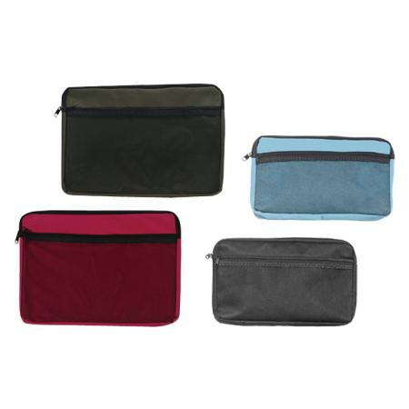 Canvas Zipper Bag - You can use them for different working tools, makeup sets, artistic sets and more.