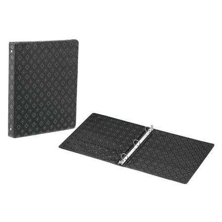 Poly Cardboard Binder - Includes two pockets for extra storage space.