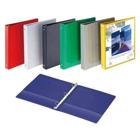 Vinyl Binder / Vinyl View Binder - Outside pockets for individual design.