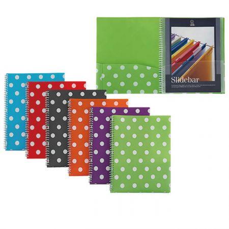 PP 8 Pocket Organizer - Polka Dot 8 Pocket Organizer