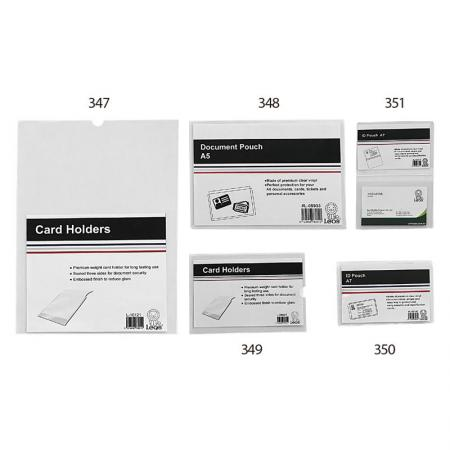 Card Holder / Letter File - Ideal way to present and store valuable documents.