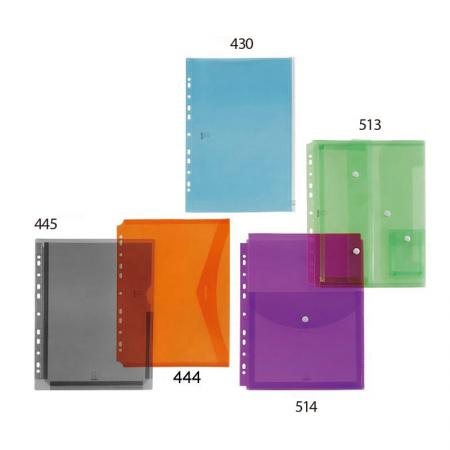 11 Holes Binder Pockets - 11 universal hole punch for 2, 3, and 4 ring binders.