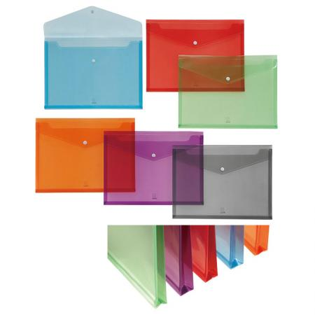 PP Gusset Carry Folder - Various kinds of size to store business card, CD's and receipt.