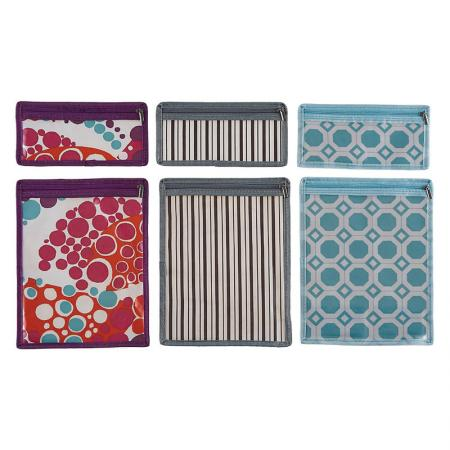 Pencil Pouch / Zipper Pouch - The zipper pencil pouch can be worked as makeup bag, wallet and more.