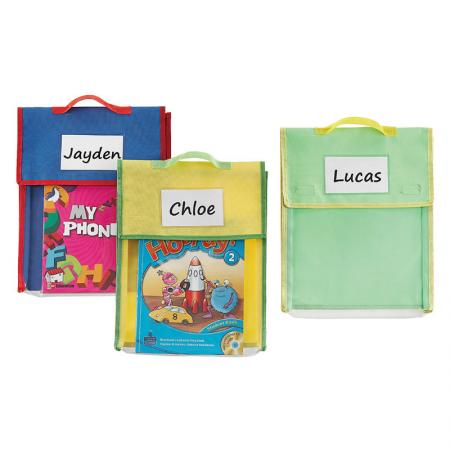Carry Book Pouch - Store More large book pouches help students and teachers stay organized.