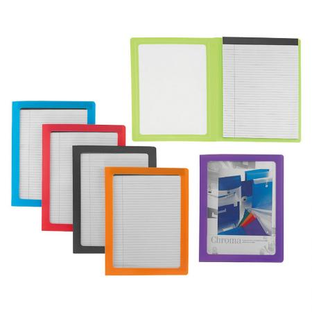 Legal Pad Portfolio - Wide rule for larger handwriting and easier reading.