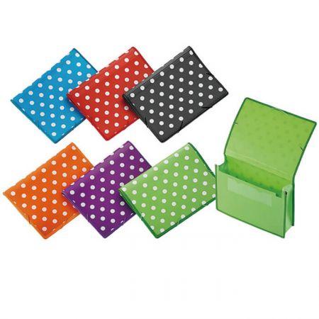 PP Pocket File - Polka Dot Pocket File