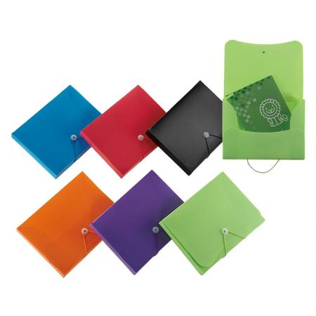 Document Case - 3 flap construction for access documents quickly.
