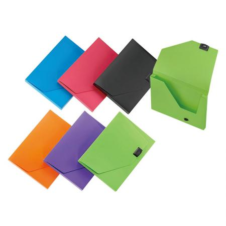 Touch-lock Document Case - Touch-lock flap keep contents safe ans secure.