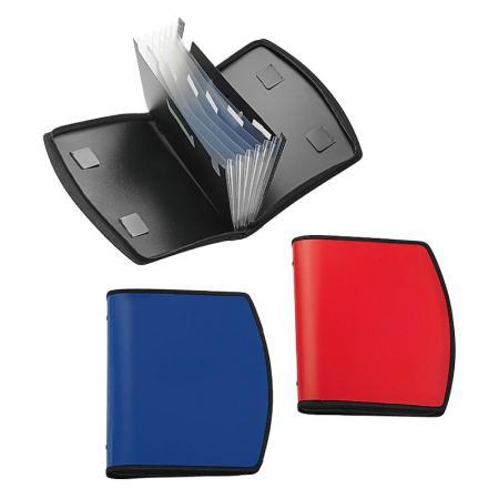 Zipper Expanding File - Zipper closure keeps materials safe and secure.