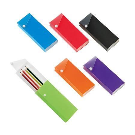 Slide Pencil Case - Sliding design for easy pull out and push in.