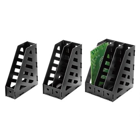 PP Foam Magazine Holder - Magazine holder are great for organizing catalogs, reports, and more.