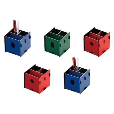 PP Foam Pencil Holder - Comes flat-packed with simple instructions for quick and easy assemble.
