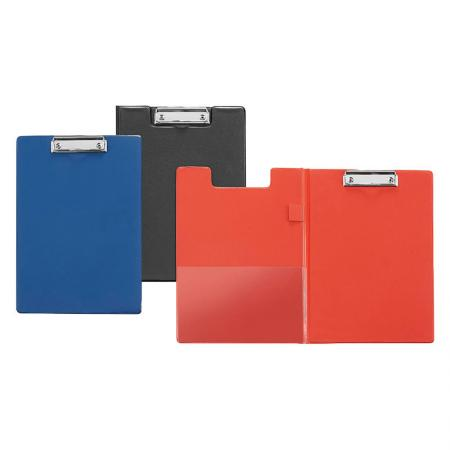 Vinyl Folding Clipboard - Easy to stack, organize loose pages, important documents, letters.