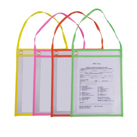 Auto Repair Order Holder - Keep your documents protected and clean through the repair process