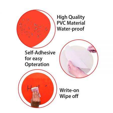 OEM Dry Erase Dot Stickers