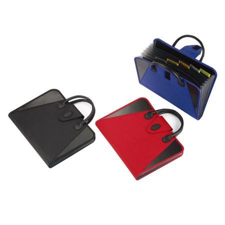 Plastic Carry Expanding File - Kilvington Carry Expanding File