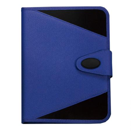 Fabric Cover Kilvington Filing Stationery Series - Prevent documents from falling out of place with our high-quality zipper enclosure.
