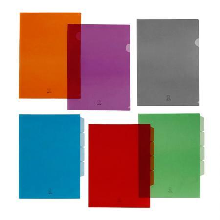 Busta per documenti in PP e cartella di file - Busta e cartella di file
