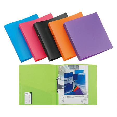 Ring & Clip Binder - Ideal for filing reports or storing documents.