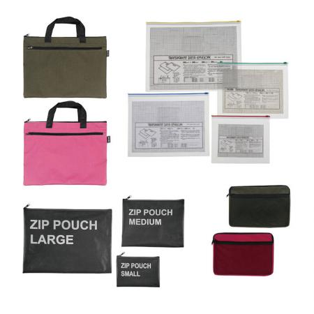 Zip Bag and Pouch - Soft material, durable and perfect for different purpose storage.