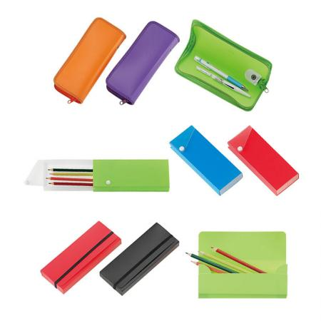 Pencil Case and Pouch - Utilized to put your most used writing instruments for quick access, as well as your favorite pencils, markers and more.
