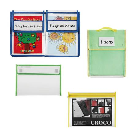 Student File Bag - Suitable for school, travel and office use and help you stay organized.