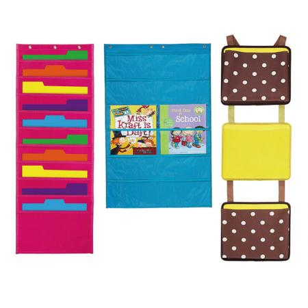 Wall Organizer Chart - Keeping files, paper and books neat, easily accessible.