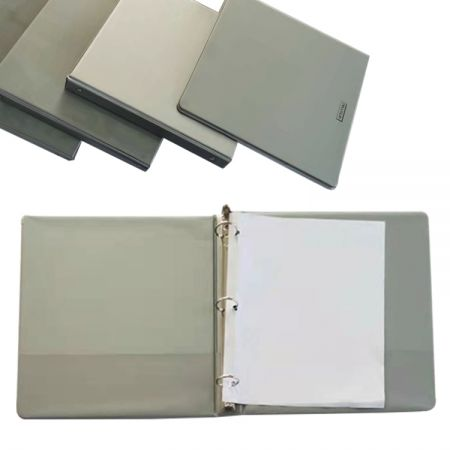 artimiki Office Stationery PVC Custom 3 Ring Binder - Ideal for organizing projects, presentations, and more.