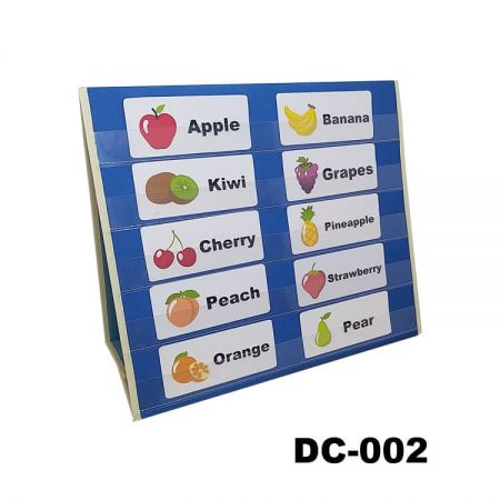 Medium Desktop Learning Chart - Our Desktop Pocket Charts and Stand are designed to make your job and learning more effective and efficient.