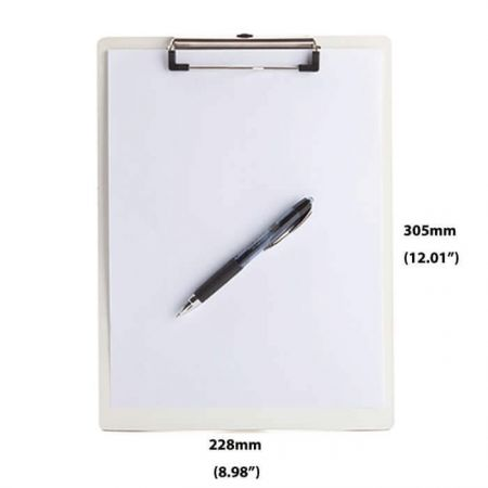 Dry Erase Clipboard - Dry erase surface and smooth flat edges with rounded corners