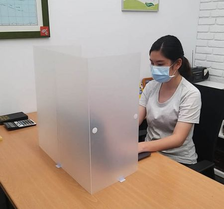 PP Face Shield - PP Desk Shield